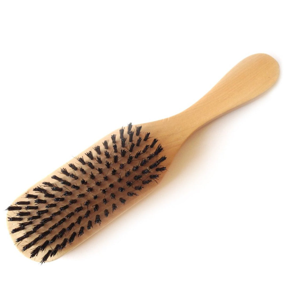 Wooden Boar Bristle Brush - Instillation Supplies - Your Hair Shop Extensions - The Best Quality Remy Hair Extensions at Your Hair Shop.