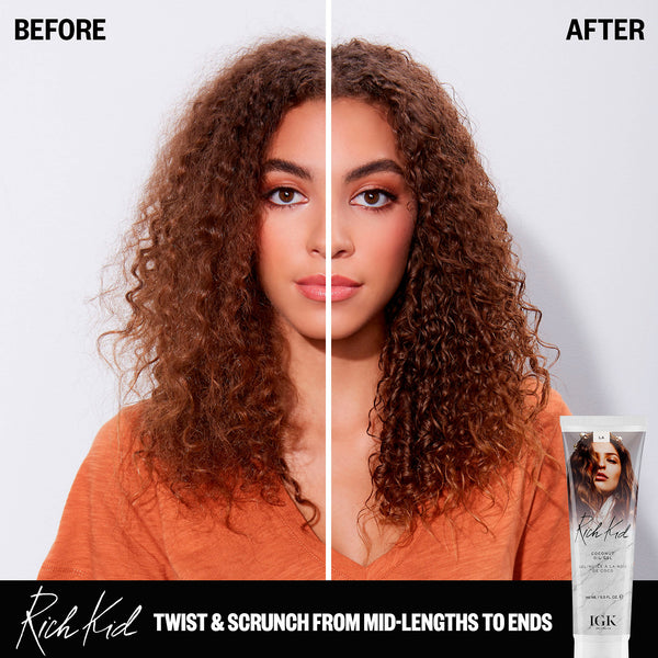 IGK - Rich Kid Coconut Oil Air-Dry Styler