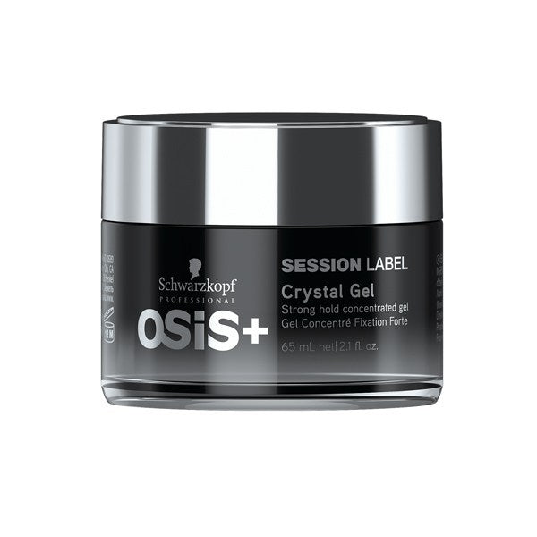 Schwarzkopf Professional - OSIS+ Session Label Crystal Gel - Hair Care Products - Schwarzkopf Professional - The Best Quality Remy Hair wefts, and shop the best quality remy hair Extensions at Your Hair Shop.
