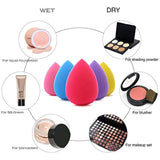 BEAKEY 5 Pcs Makeup Sponge Set Blender