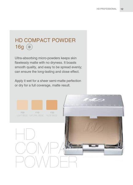 Fly Up Cosmetics HD Compact Powder - fly up beauty HD makeup professional make up kattong