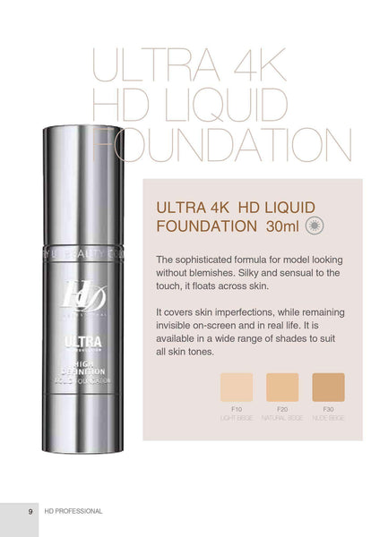 Fly Up Beauty Ultra 4K HD Makeup Foundation - fly up beauty HD makeup professional make up kattong
