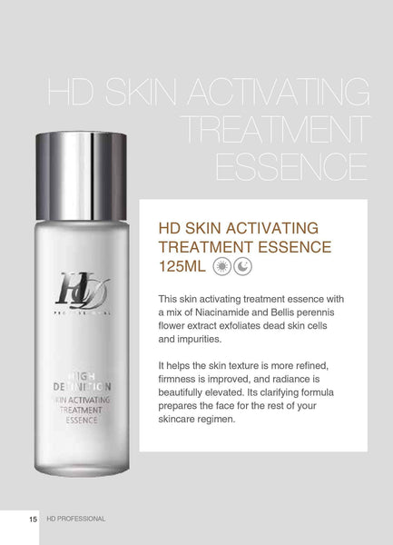 HD Skin Activating Treatment Essence - fly up beauty HD makeup professional make up kattong