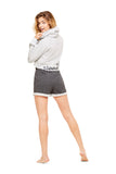 Fleece Short | Soft Casual Women Sleep Bottoms | Lounge & Sleepwear