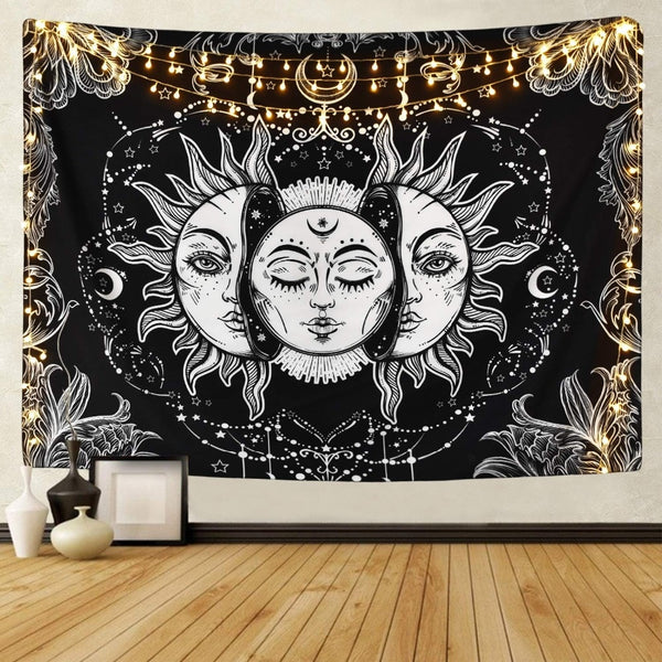 black and white tapestry cheap - Tapestry Shopping - Tapestries, Hippies and Wall Hangings