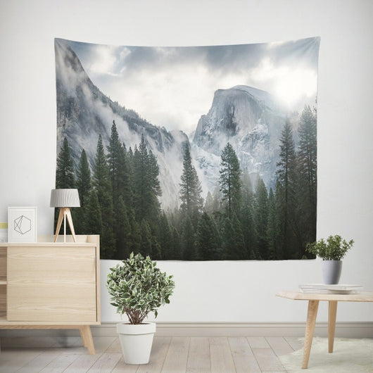 Snow Forest Tapestry - Tapestry Shopping - Tapestries, Hippies and Wall Hangings