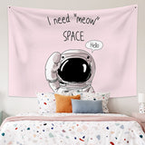 I need meow space tapestry - Tapestry Shopping