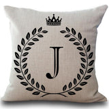Pick Your Unique Letter Cushion - Tapestry Shopping - Tapestries, Hippies and Wall Hangings