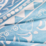 Super Soft Teal Plush Tapestry - Tapestry Shopping