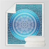 Super Soft Teal Plush Tapestry - Tapestry Shopping - Tapestries, Hippies and Wall Hangings
