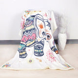 Tapestry Shopping - Tapestries, Hippies and Wall Hangings:Elephant Plush Throw
