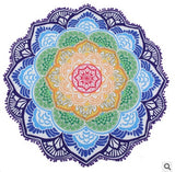 Lotus Flower Mandala Tassel Tapestry - Tapestry Shopping - Tapestries, Hippies and Wall Hangings