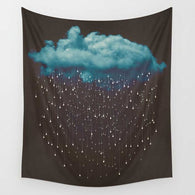 Tapestry Shopping - Tapestries, Hippies and Wall Hangings:Raining Cloud Wall Tapestry,Default Title
