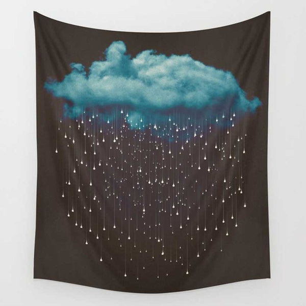 Raining Cloud Wall Tapestry - Tapestry Shopping - Tapestries, Hippies and Wall Hangings