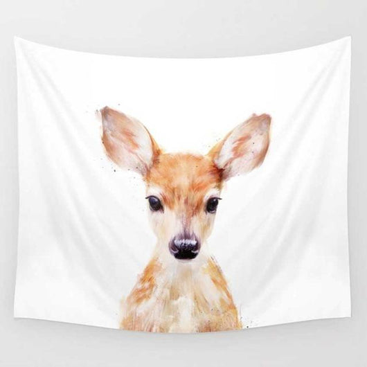 Tapestry Shopping - Tapestries, Hippies and Wall Hangings:Cute Fawn Tapestry,Default Title