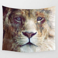 Tapestry Shopping - Tapestries, Hippies and Wall Hangings:Horrifying Detailed Lion Tapestry,Default Title