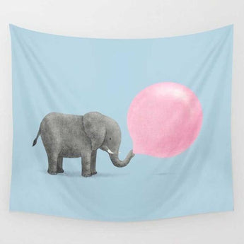 Cute Elephant Tapestry - Tapestry Shopping