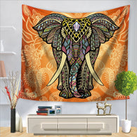 Tapestry Shopping - Tapestries, Hippies and Wall Hangings:Classical Indian Elephant Tapestry