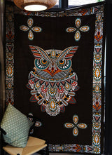 Mandala Owl Wall Tapestry - Tapestry Shopping - Tapestries, Hippies and Wall Hangings