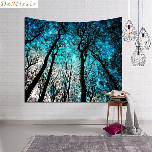 Teal Galaxy Tapestry - Tapestry Shopping - Tapestries, Hippies and Wall Hangings