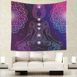 Yoga Decorative Tapestry - Tapestry Shopping - Tapestries, Hippies and Wall Hangings