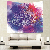 Tapestry Shopping - Tapestries, Hippies and Wall Hangings:Psychedelic Yoga Tapestry,T295Y-10 / 75x87cm