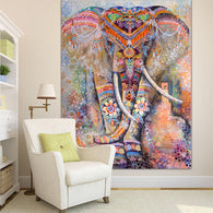 Tapestry Shopping - Tapestries, Hippies and Wall Hangings:Rainbow Elephant Tapestry