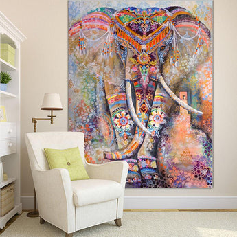 Rainbow Elephant Tapestry - Tapestry Shopping