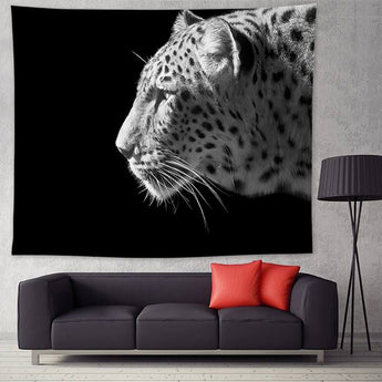 Black & White Leopard Tapestry - Tapestry Shopping - Tapestries, Hippies and Wall Hangings