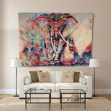 Rainbow Elephant Tapestry - Tapestry Shopping - Tapestries, Hippies and Wall Hangings