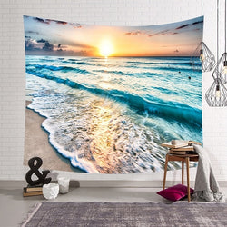 3D Bright Beach Tapestry - Tapestry Shopping - Tapestries, Hippies and Wall Hangings