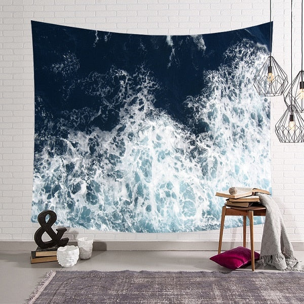 Scattered Wave Tapestry - Tapestry Shopping