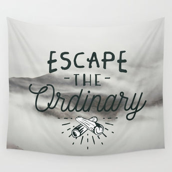 Black And White Motivational Tapestry - Tapestry Shopping