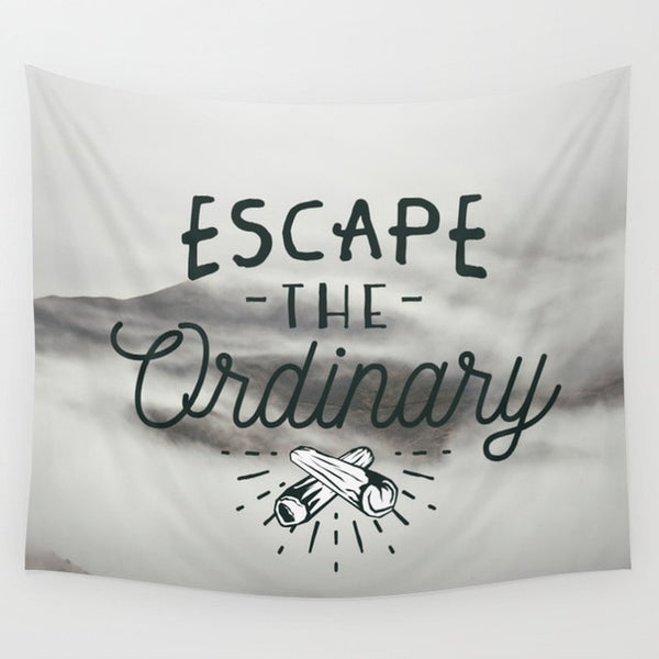 Black And White Motivational Tapestry - Tapestry Shopping - Tapestries, Hippies and Wall Hangings