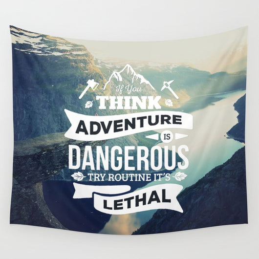 Quotes Hanging Cloth - Tapestry Shopping - Tapestries, Hippies and Wall Hangings