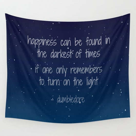 Dumbledore Quote Tapestry - Tapestry Shopping - Tapestries, Hippies and Wall Hangings