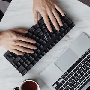 X-Bows Mechanical Ergonomic Keyboard - Efficient Workstation Tool