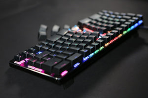 X-Bows Ergonomic Mechanical Keyboard - RGB Lighting