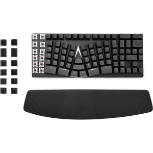 X-Bows Ergonomic Mechanical Keyboard Combo - Brown Switches