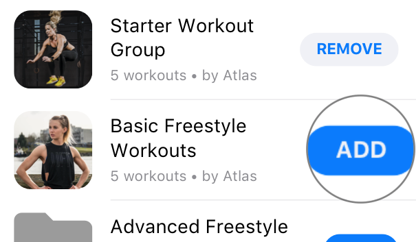 Adding and Removing Workouts from your Atlas Multi-Trainer 3 workout tracker watch.