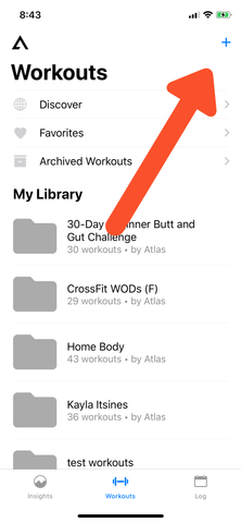 add workout