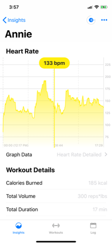 heart rate detailed BPM