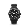 mens black and white watch
