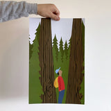 Hiking poster - Partial proceeds to BC Parks Foundation