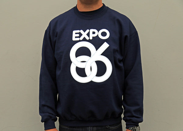 EXPO 86 crewneck sweatshirt