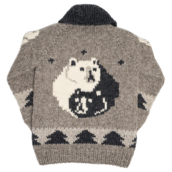 Spirit Bear heritage sweater by Granted/V.I.A. - SHIPS SEPT 24th, 2020