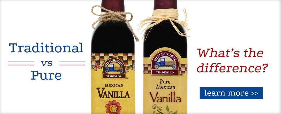Traditional vs Pure Mexican Vanilla