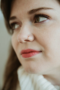 Nose Ring (8mm) - 14K Gold