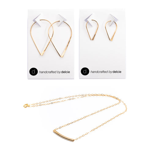Abbie Earring and Necklace Set
