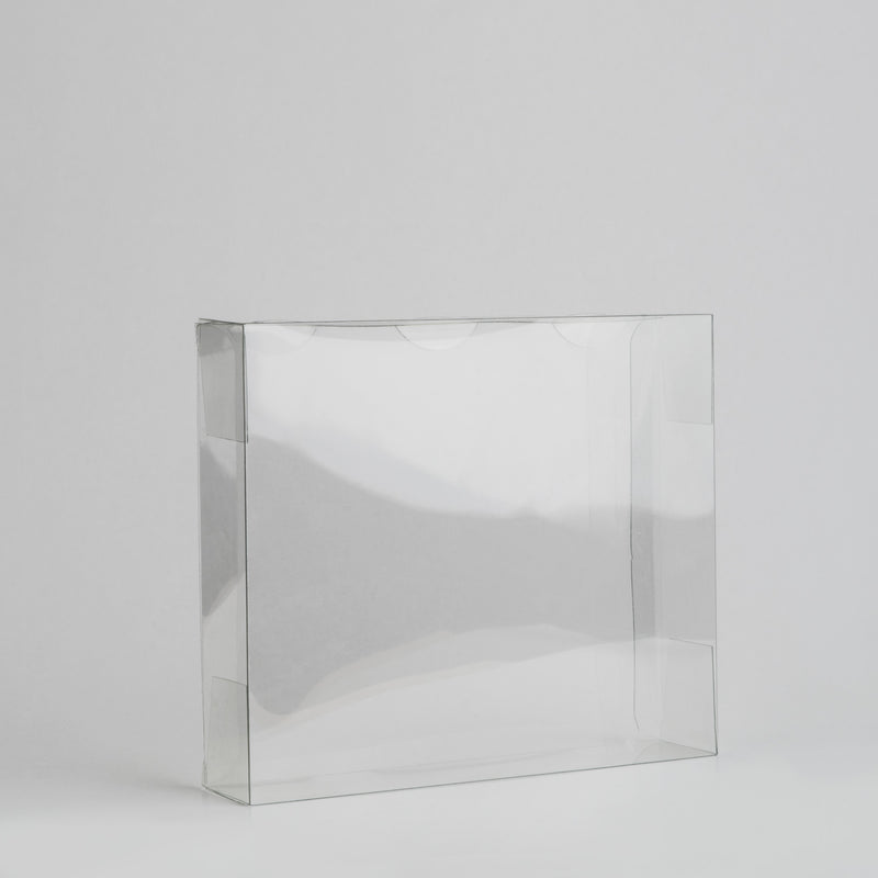 Plastic Candy Box Transparent Large | Pack of 25 pieces